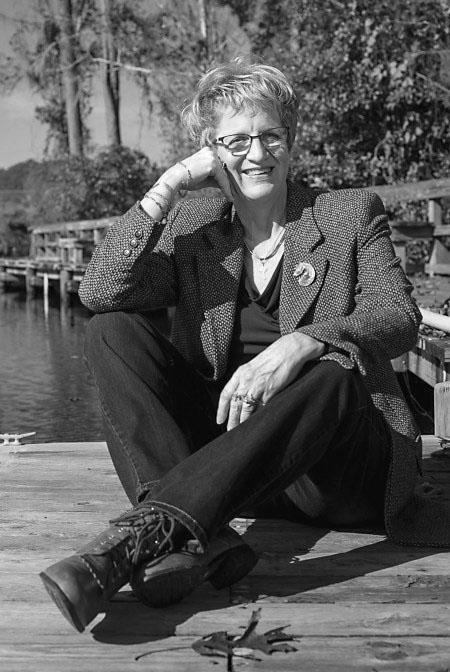 Author Jo McNally BW